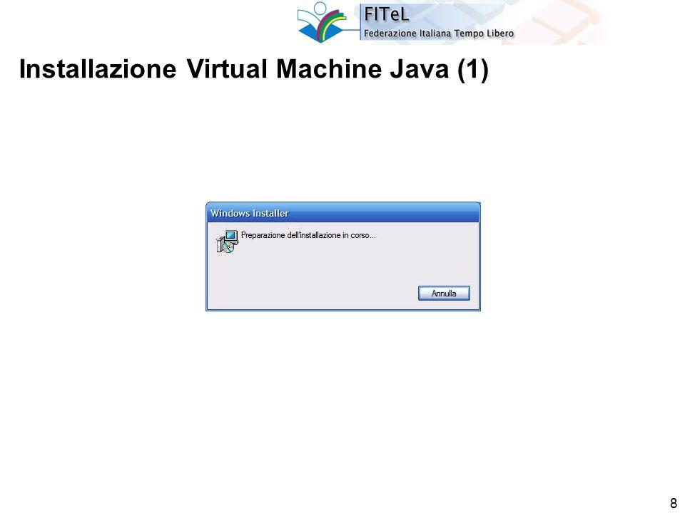 9 Installazione Virtual Machine Java (2)