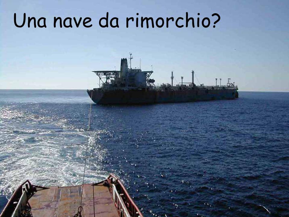 Una nave da rimorchio?