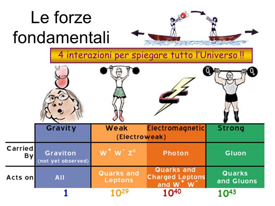 Bosone di Higgs Mediatori di Forze Z bosone W  fotone g gluone Famiglie di materia Famiglie di materia  tau   -neutrino b bottom t top III  muone   -neutrino s strange c charm II e elettrone e e-neutrino d down up uI Leptoni Quarks .