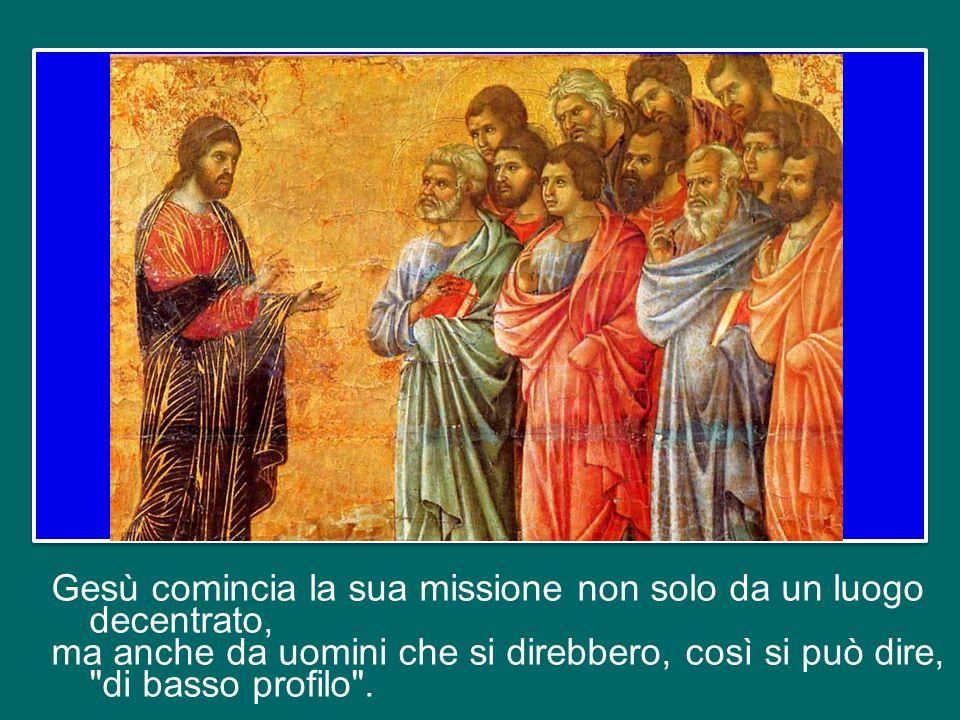Ci insegna un metodo, il suo metodo, che però esprime il contenuto, cioè la misericordia del Padre.