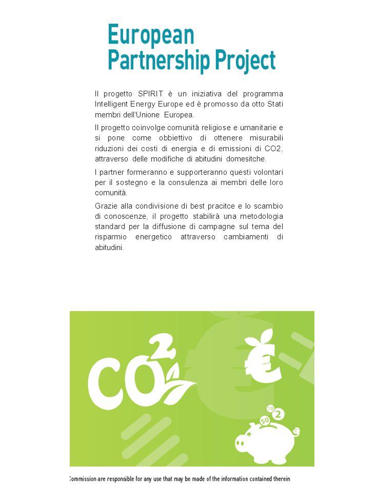 Il progetto SPIRIT è un iniziativa del programma Intelligent Energy Europe ed è promosso da otto Stati membri dell'Unione Europea. Il progetto coinvol