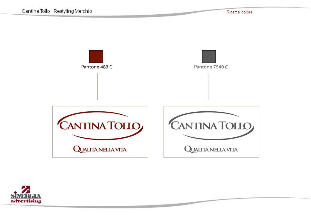 Cantina Tollo - Restyling Marchio Ricerca colore