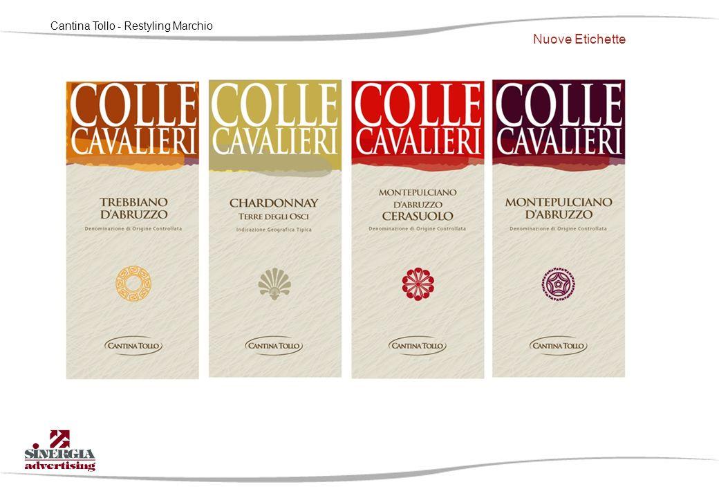 Cantina Tollo - Restyling Marchio Nuove Etichette