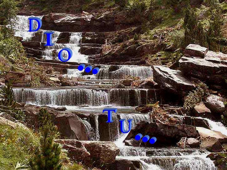 Dio solo basta a se stesso D i o s o l o b a s t a a s e s t e s s o Egli, però, preferisce contare su di te E g l i, p e r ò, p r e f e r i s c e c o n t a r e s u d i t e