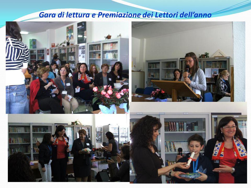Gara di lettura e Premiazione dei Lettori dell'anno
