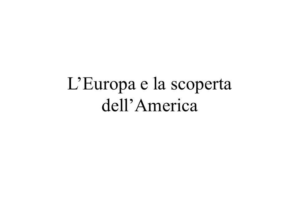 L'Europa e la scoperta dell'America