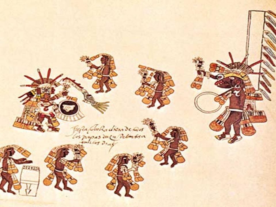 Prima di essere fondato l'impero Azteca, c'era una mentalitá religiosa proveniente dai Toltecas. Essa si è poi sviluppata con la più grande saggezza i