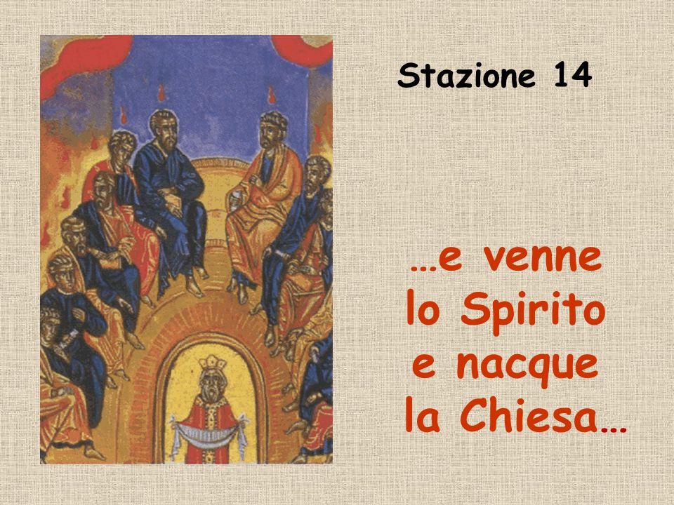 Preghiamo: Gesù Risorto, effondi su di noi, per intercessione di Maria, ancora oggi, qui, di Maria, ancora oggi, qui, lo Spirito della vita, lo Spirit