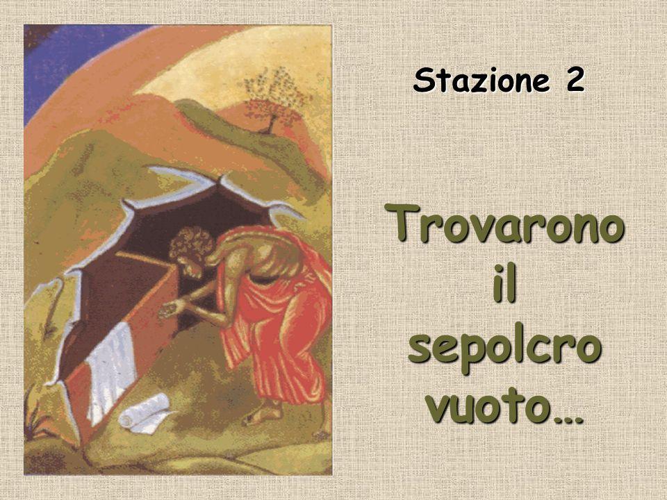 …e infine Gesù sale al cielo… in patria… Stazione 12