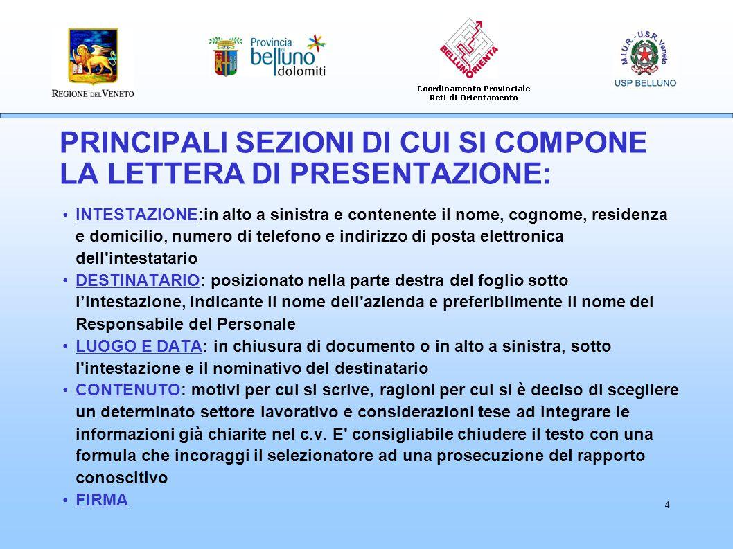 5 IL CURRICULUM VITAE Curriculum europeo Europass Curriculum cronologico o compilativo IL C.V.