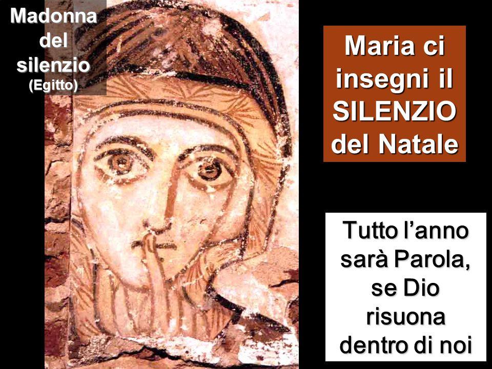 Maria, da parte sua, custodiva tutte queste cose, meditandole nel suo cuore.