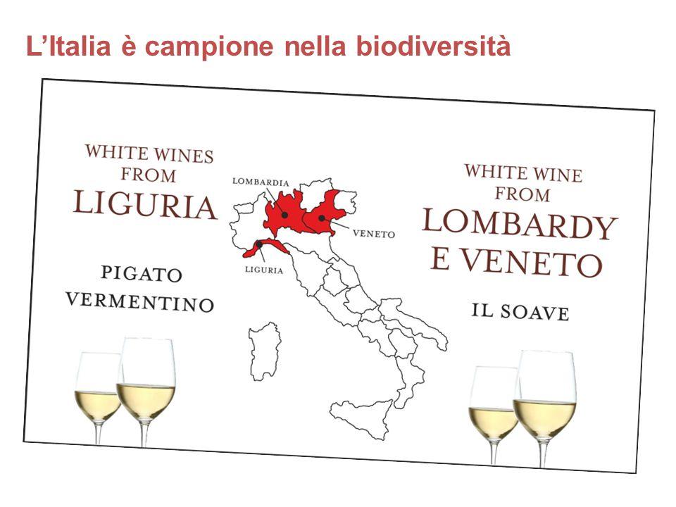 L'Italia è campione nella biodiversità RIDARE VITA A LUOGHI DIMENTICATI