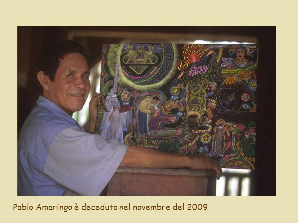 Pablo Amaringo è deceduto nel novembre del 2009