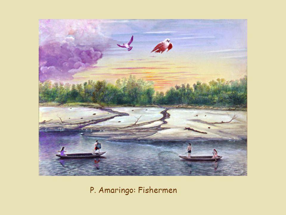 P. Amaringo: Fishermen