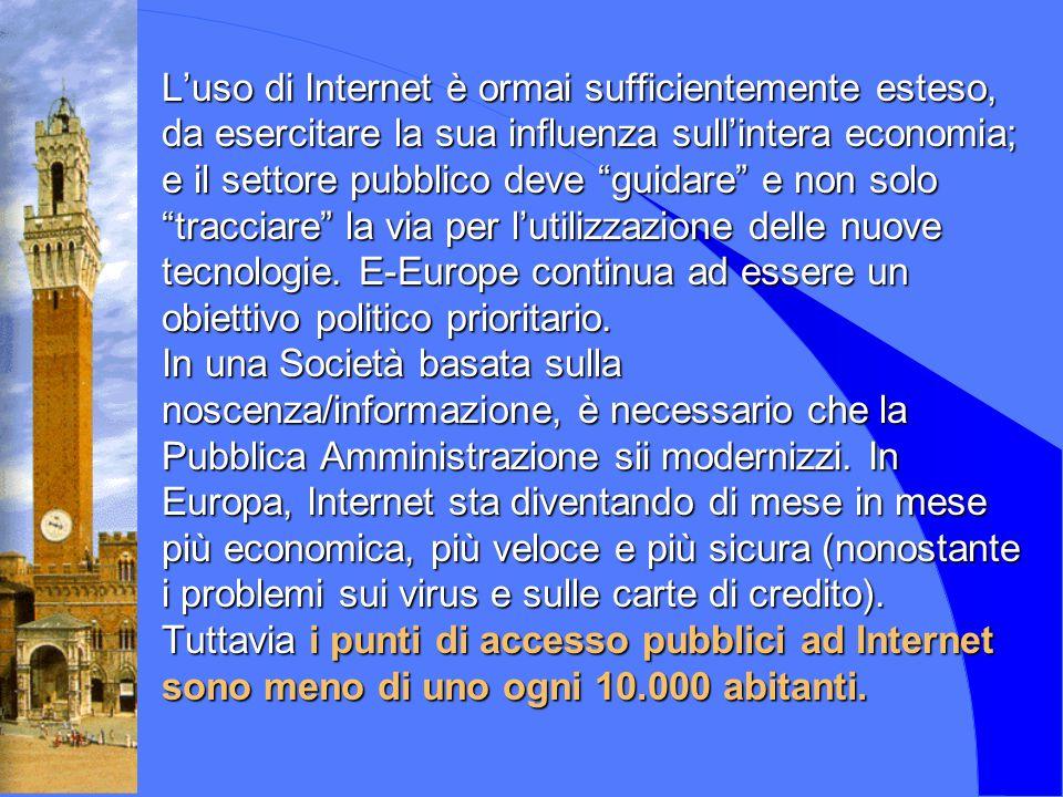 E-governement : il caso Siena