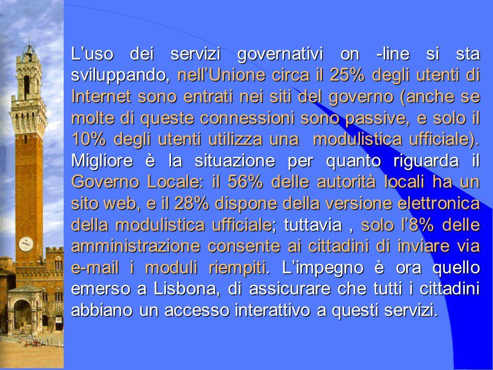 ISA Internet CED Comune di Siena Borse di Studio 1994 1996