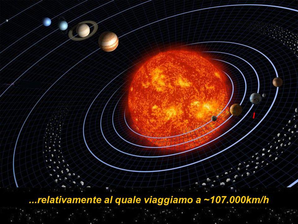 In che è nulla se comparato alla rotazione galattica assieme ad un'immensità di sistemi solari