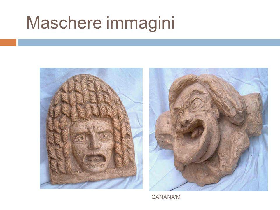 Maschere immagini CANANA'M.