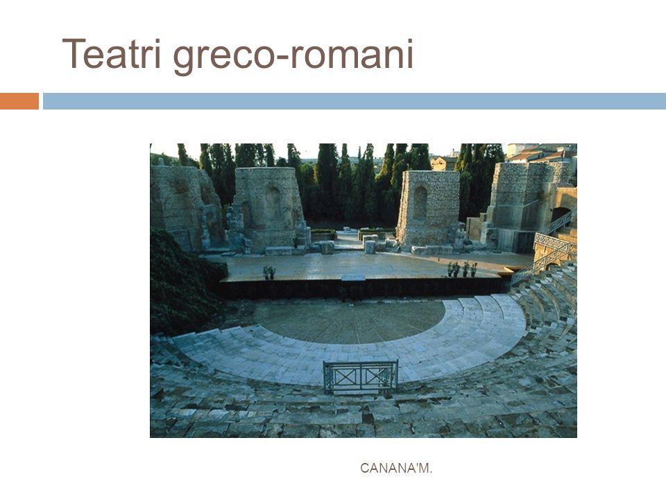 Teatri greco-romani CANANA'M.