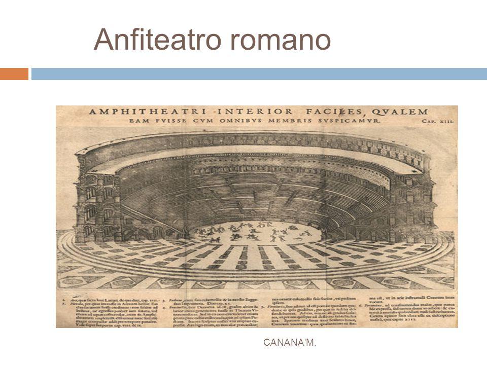 Anfiteatro romano CANANA'M.