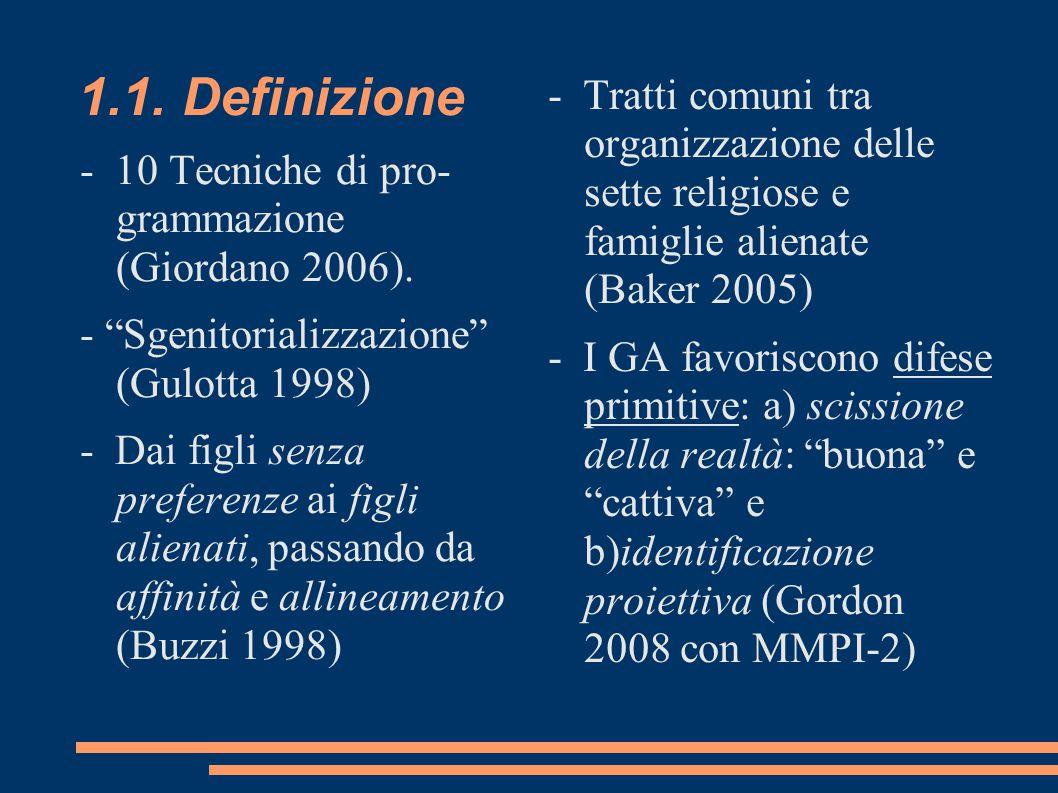 1.1.Definizione - 10 Tecniche di pro- grammazione (Giordano 2006).