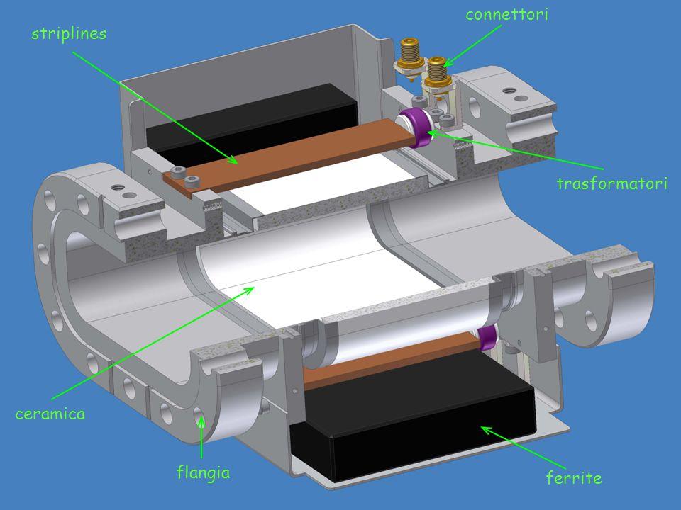 Un beam position monitor è un dispositivo utilizzato nell'acceleratore per misurare la posizione del fascio di particelle all'interno della camera da
