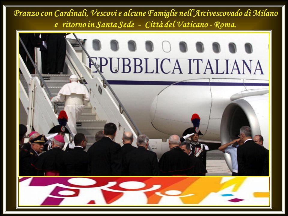 Domenica mattina - 3 giugno 2012 Celebrazione Eucaristica e Angelus nel Parco di Bresso - Milano 2015