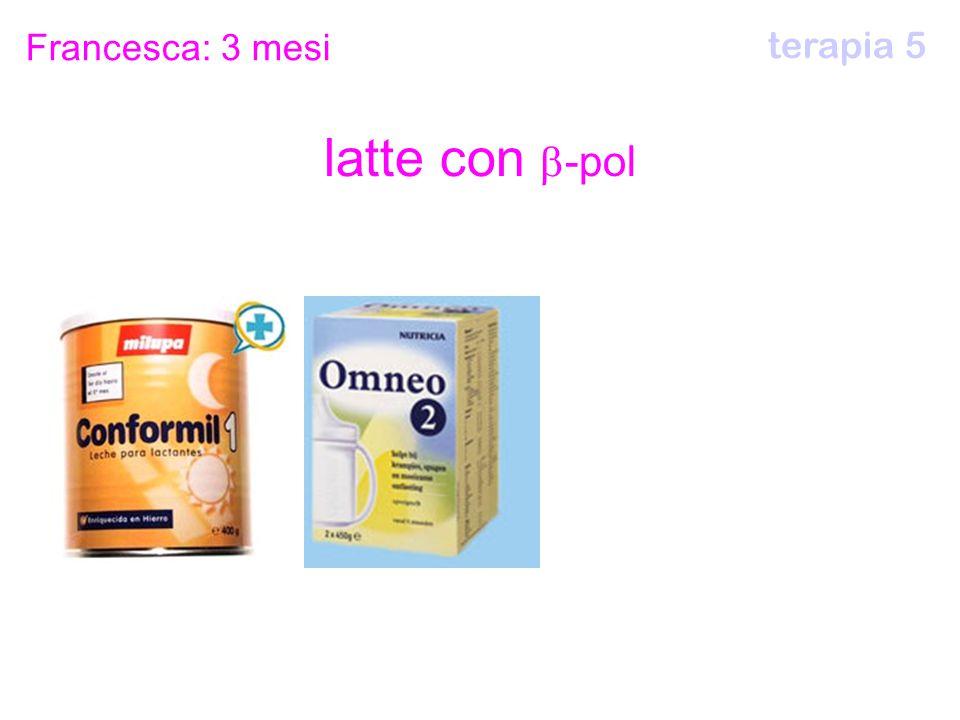 latte con  -pol Francesca: 3 mesi terapia 5