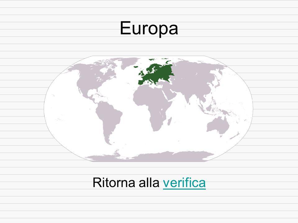 Europa Ritorna alla verificaverifica