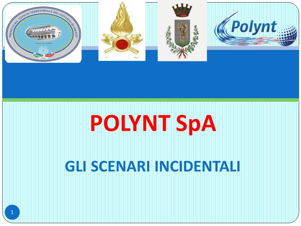 POLYNT SpA GLI SCENARI INCIDENTALI 1