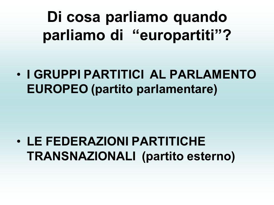 Di cosa parliamo quando parliamo di europartiti .
