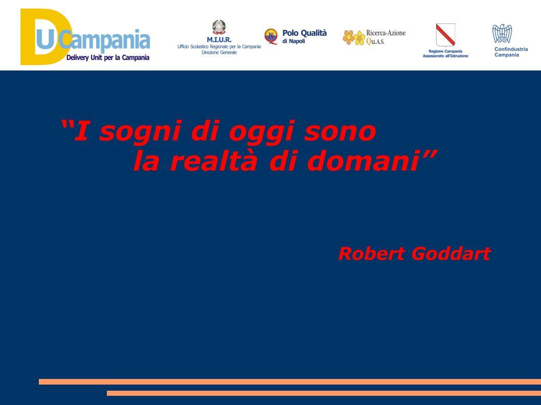 """""""I sogni di oggi sono la realtà di domani"""" Robert Goddart"""