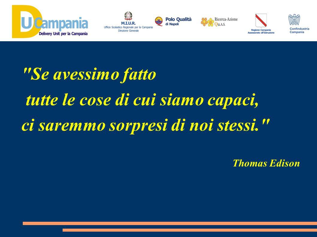 Se avessimo fatto tutte le cose di cui siamo capaci, ci saremmo sorpresi di noi stessi. Thomas Edison