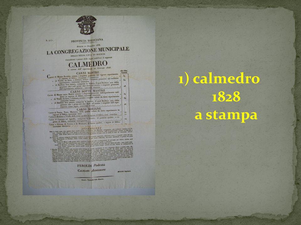 1) calmedro 1828 a stampa