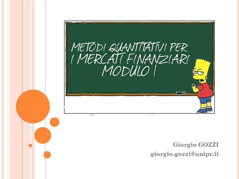 Giorgio GOZZI giorgio.gozzi@unipr.it