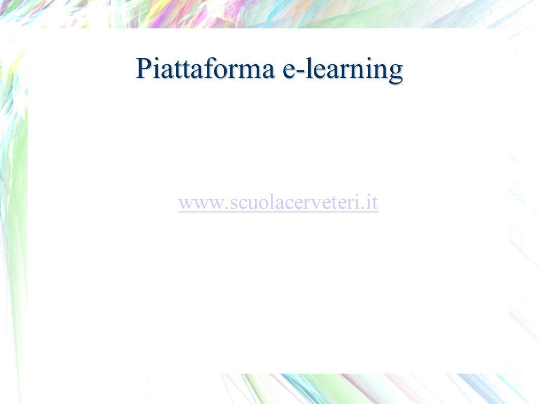 Piattaforma e-learning www.scuolacerveteri.it