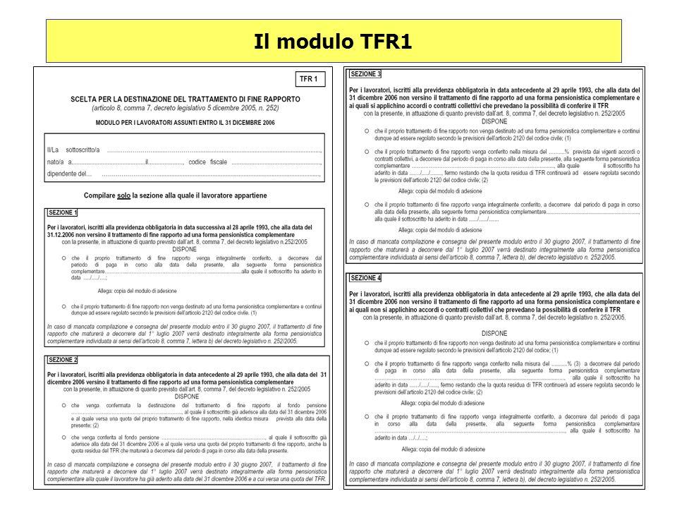 Il modulo TFR1