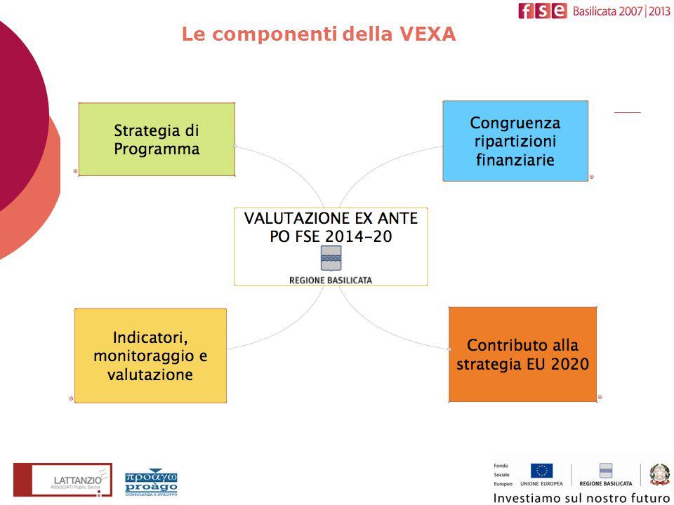Le componenti della VEXA