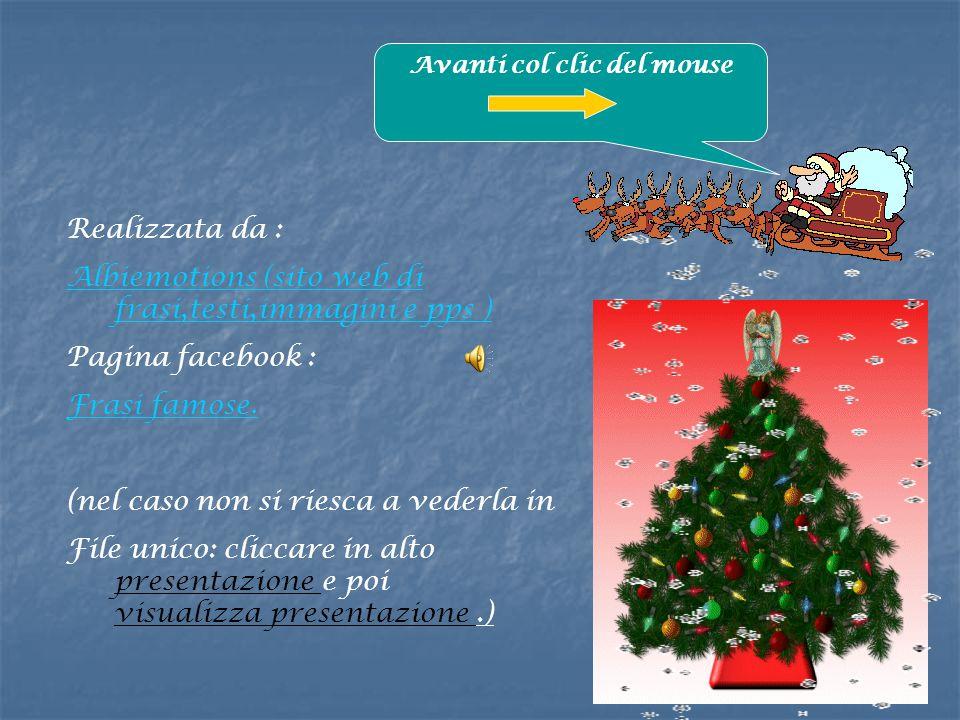Realizzata da : Albiemotions (sito web di frasi,testi,immagini e pps ) Pagina facebook : Frasi famose.