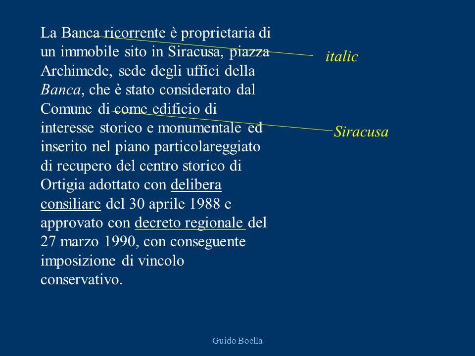 Guido Boella 93-99 Reg.Sent 3130-90 Reg.