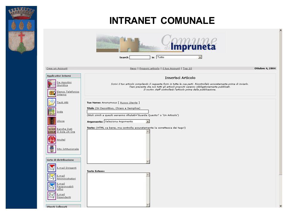 INTRANET COMUNALE