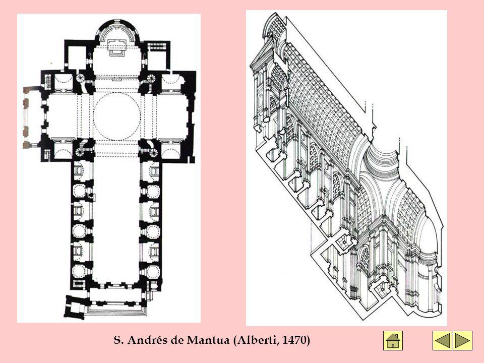 S. Andrés de Mantua (Alberti, 1470)