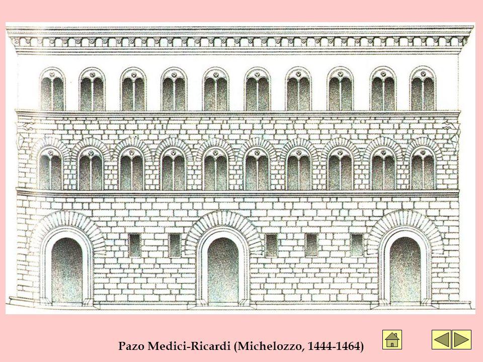 Pazo Medici-Ricardi (Michelozzo, 1444-1464)