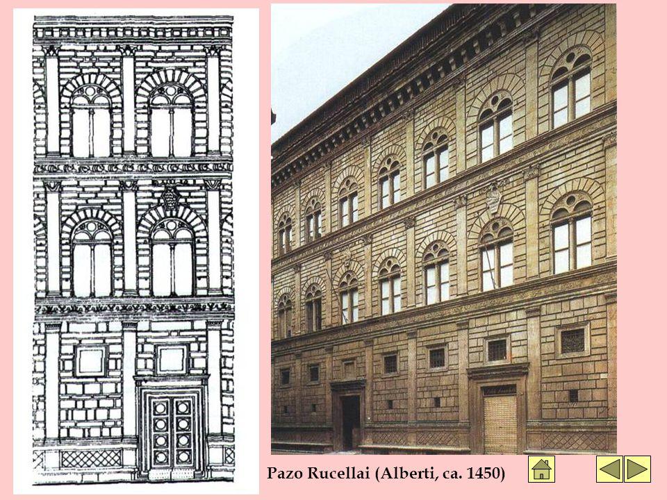 Pazo Rucellai (Alberti, ca. 1450)