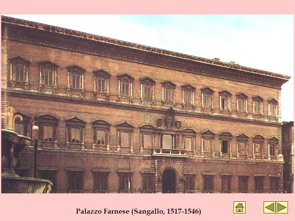 Palazzo Farnese (Sangallo, 1517-1546)