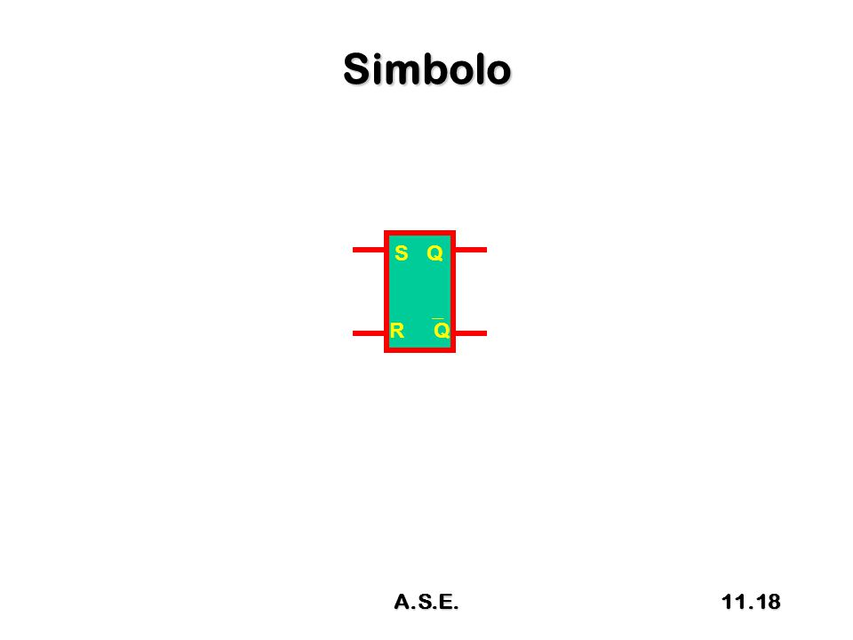 Simbolo S Q R  Q 11.18A.S.E.