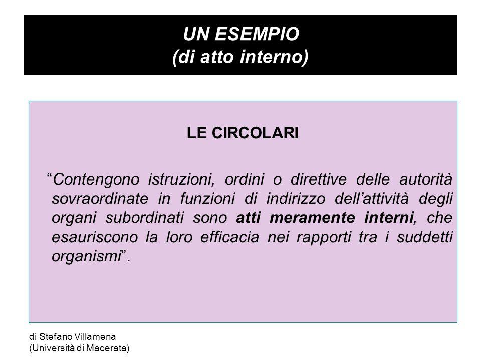 Segue … CORTE DI CASSAZIONE - SEZIONI UNITE - Sentenza 2 novembre 2007 n.