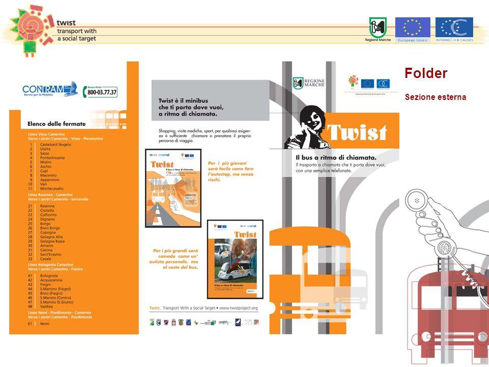 Folder Sezione esterna