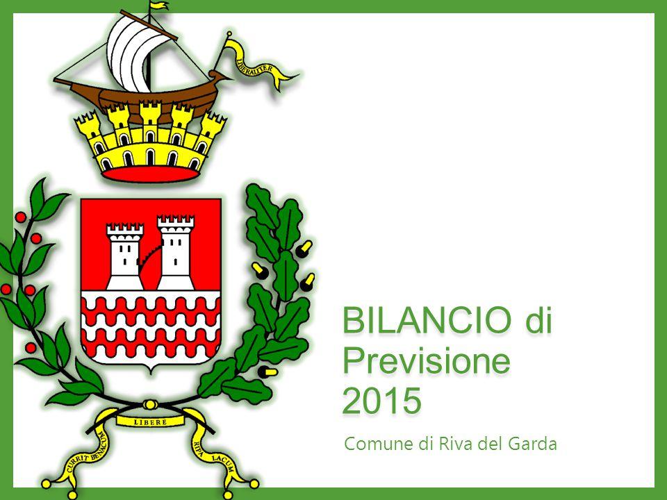 BILANCIO di Previsione 2015 Comune di Riva del Garda