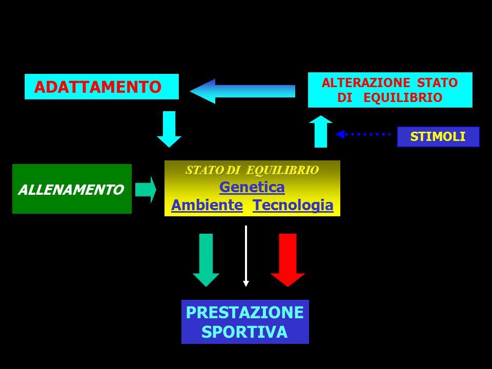 """PRESTAZIONE SPORTIVA Modello di prestazione """"sportiva"""